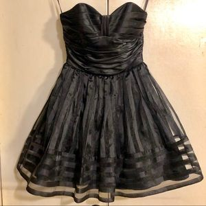 Hersey Johnson Sz 2 Dress Black